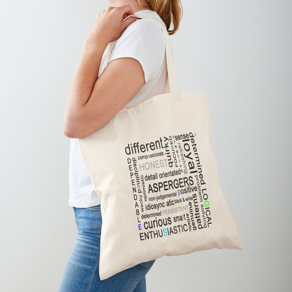 Colourful Asperger's Tote Bag
