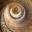 Stairs in Melk Abbey by Jim Lovell