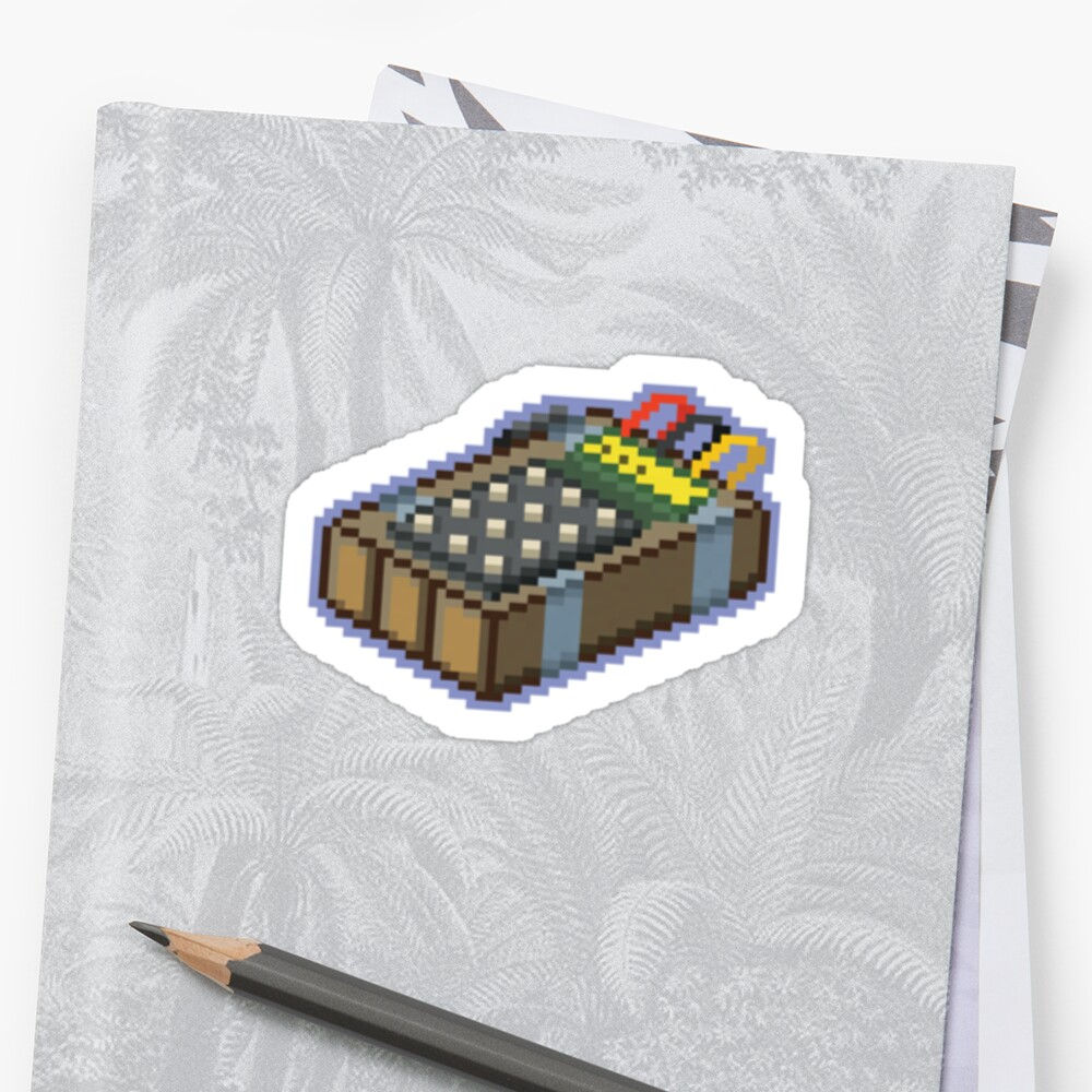 csgo pixel series bomb stickers by archanor redbubble. Black Bedroom Furniture Sets. Home Design Ideas