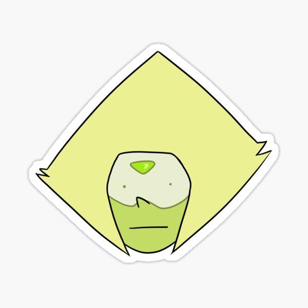 Confused Peridot Sticker