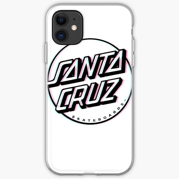 3D Santa Cruz iPhone Soft Case
