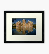 Bodiam Castle HDR Framed Print