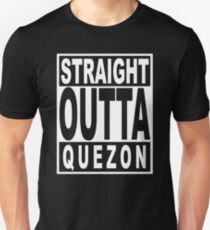 Straight Outta Quezon Unisex T-Shirt