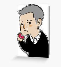 Cutiepie Lestrade Greeting Card