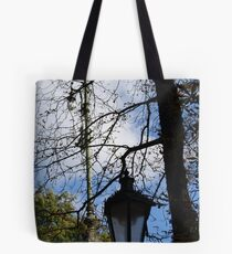 Following the street lamps in Prague ....... Tote Bag