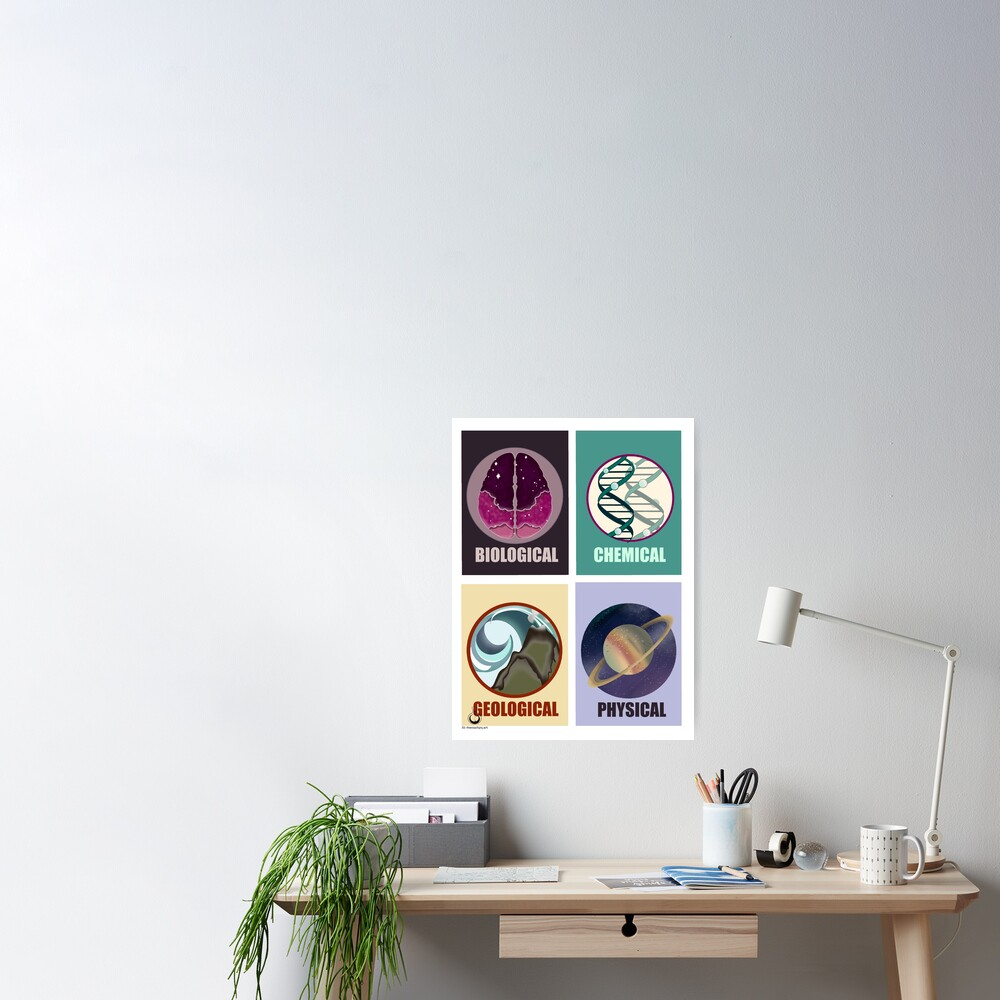 Science Fields Poster
