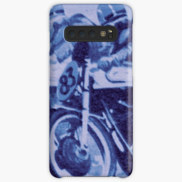 50's Racers in Blue Samsung Galaxy Snap Case