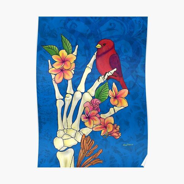 Bird bones Poster