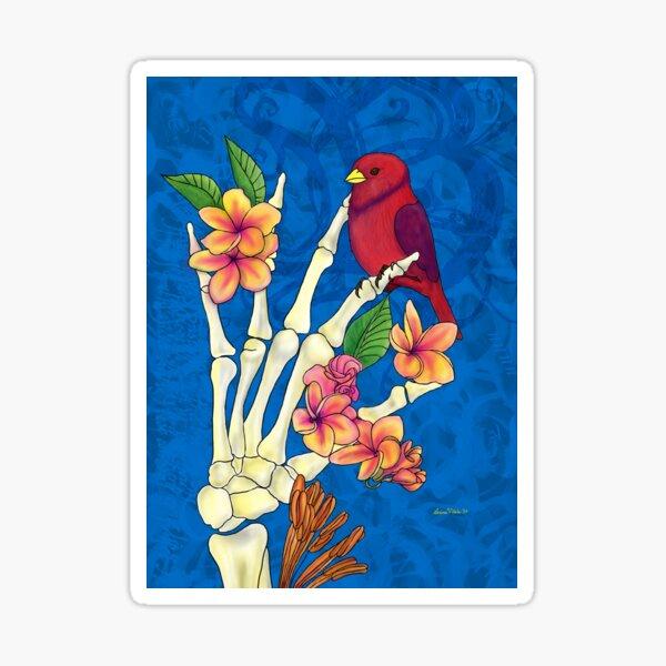 Bird bones Sticker