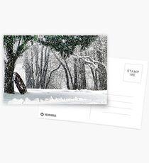 Snow Postcards