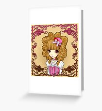 Lolita in Pink Greeting Card