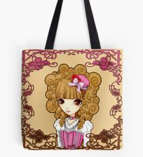 Lolita in Pink Tote Bag