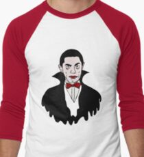 Dracula icon Men's Baseball ¾ T-Shirt