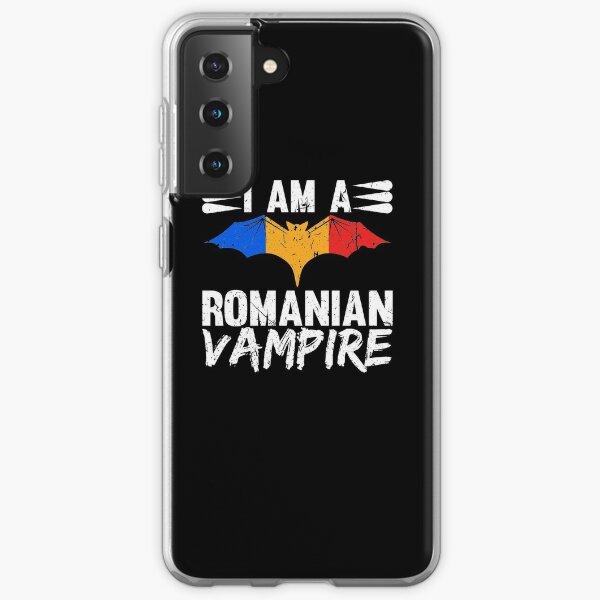 Romanian Vampire Romania Flag Colors Halloween Transylvania Samsung Galaxy Soft Case