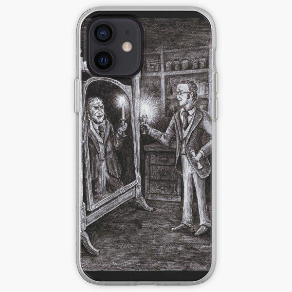 Dr. Jekyll and Mr. Hyde - Dark Mirror iPhone Soft Case