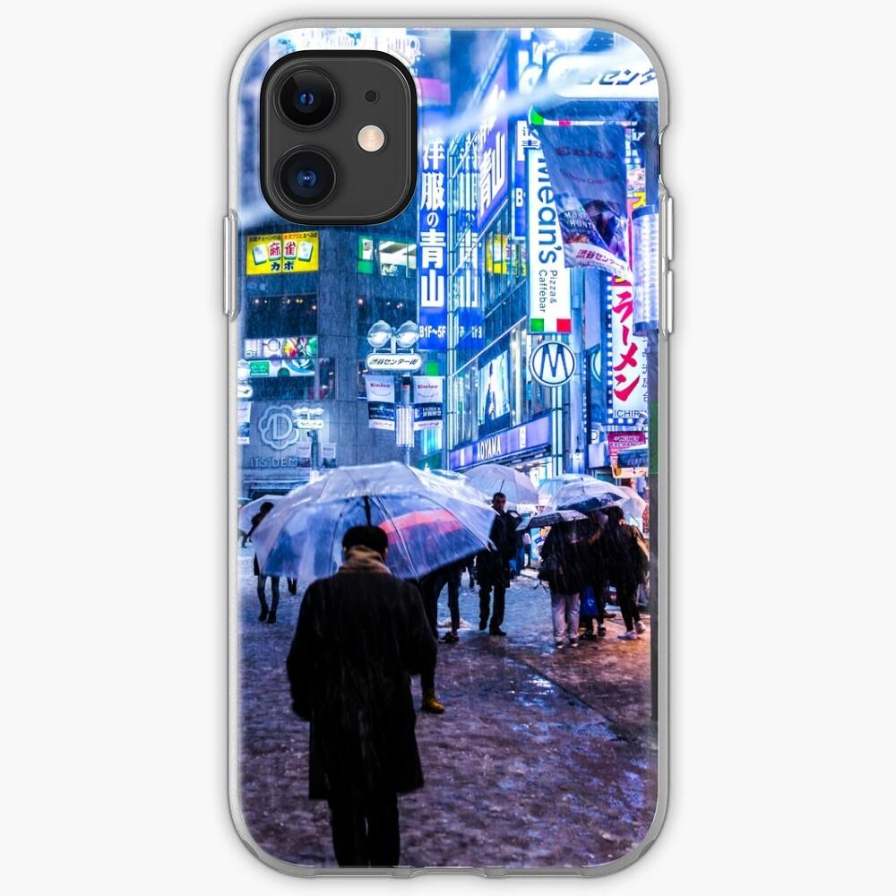 coque iphone 8 snow night