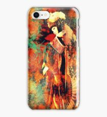 Geisha Girl iphone cover iPhone Case/Skin