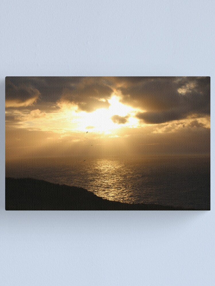 Alternate view of Troup sunset Canvas Print