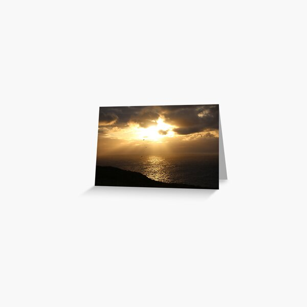 Troup sunset Greeting Card