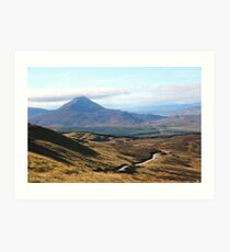 Schiehallion Art Print