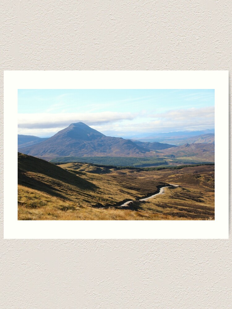Alternate view of Schiehallion Art Print