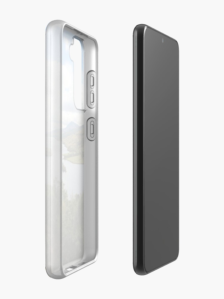 Alternate view of Queen's View Case & Skin for Samsung Galaxy