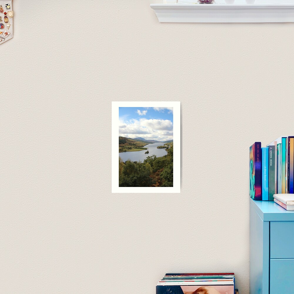 Queen's View Art Print