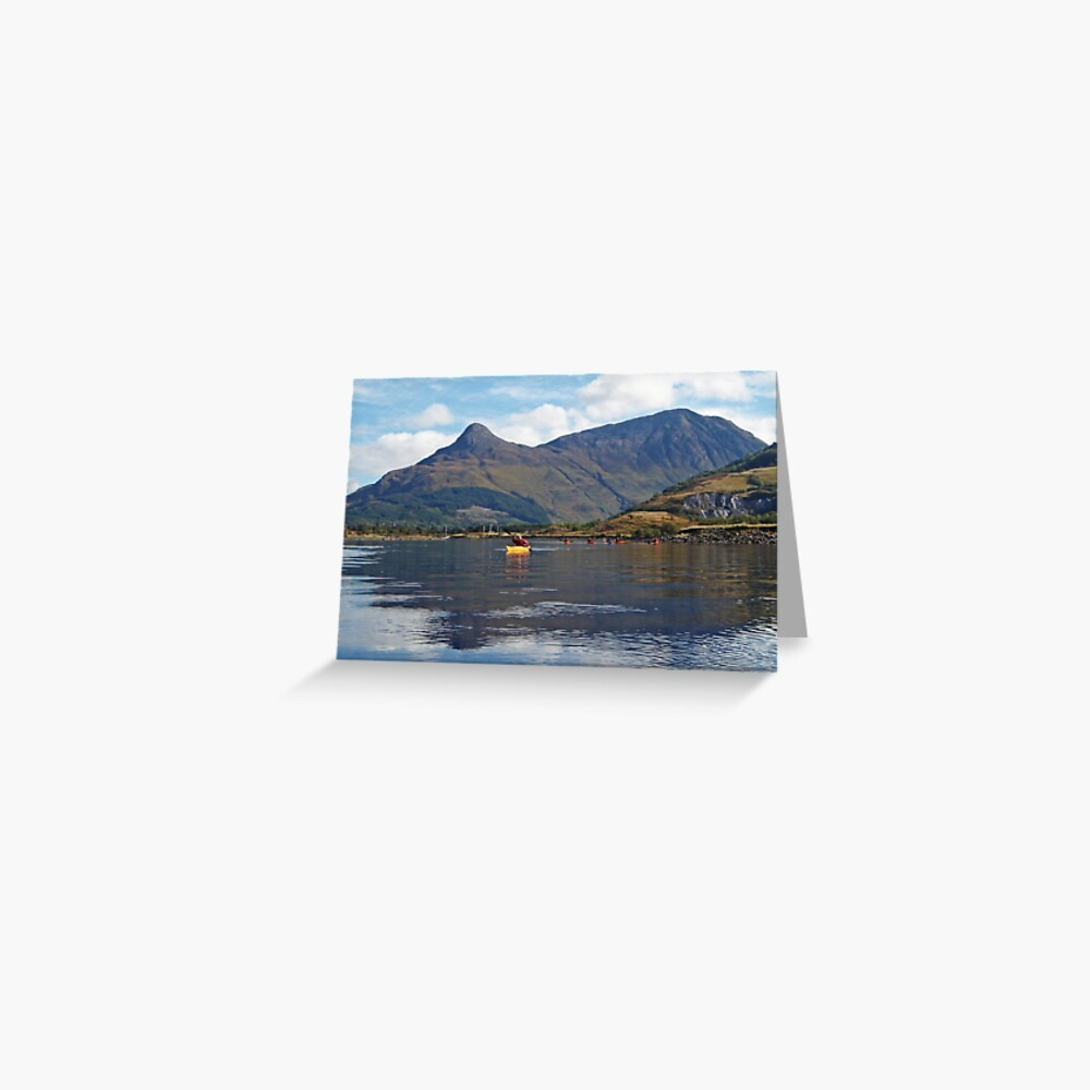 Reflective paddling Greeting Card
