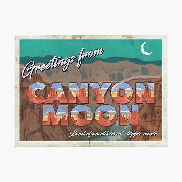 Postal Canyon Moon - Harry Styles Lámina fotográfica