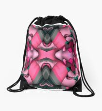 Knotted  Abstract Drawstring Bag