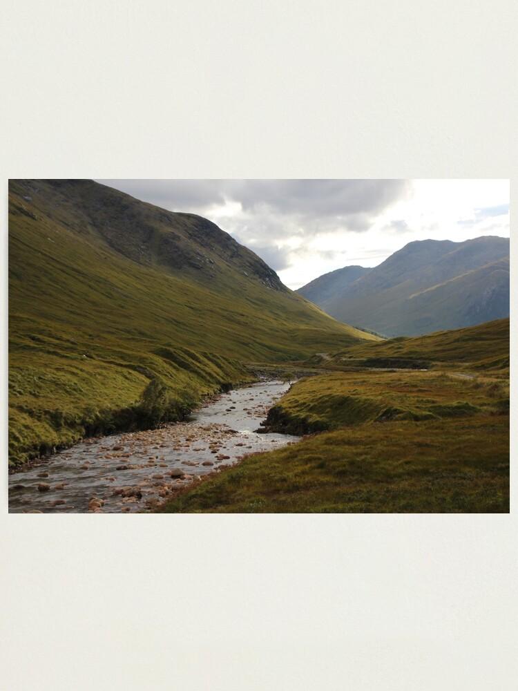 Alternate view of Glen Etive Photographic Print