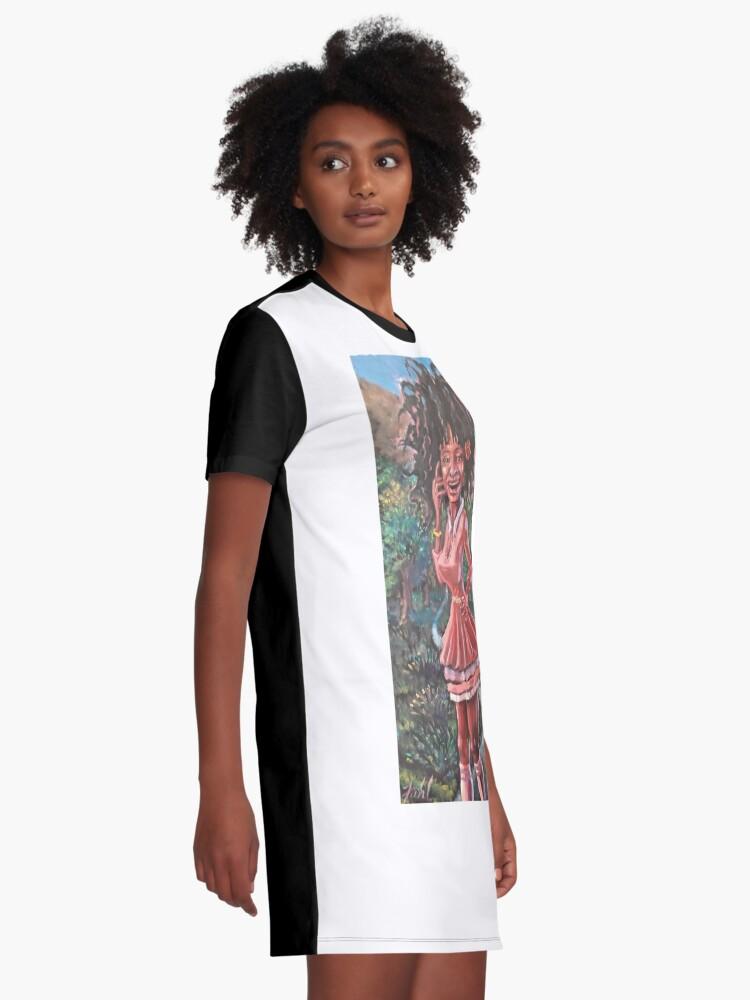 Alternate view of WHATEVA Graphic T-Shirt Dress