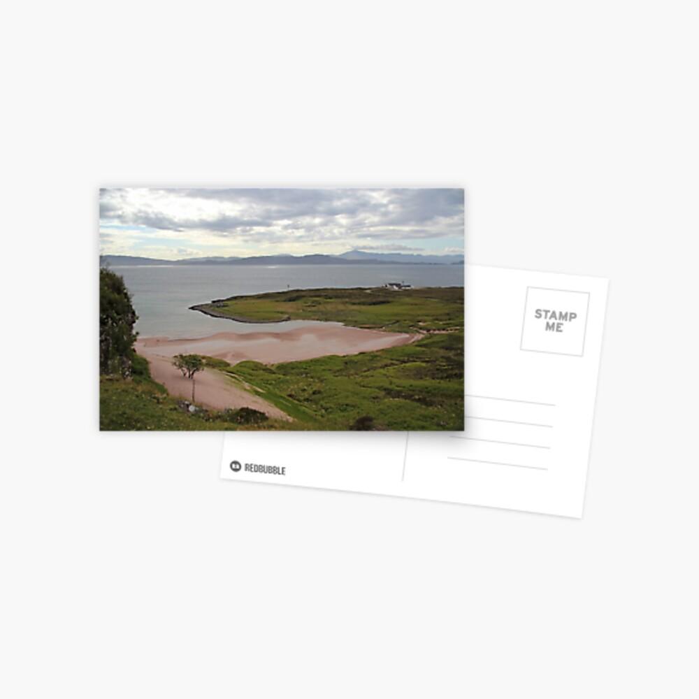 Monty's beach Postcard