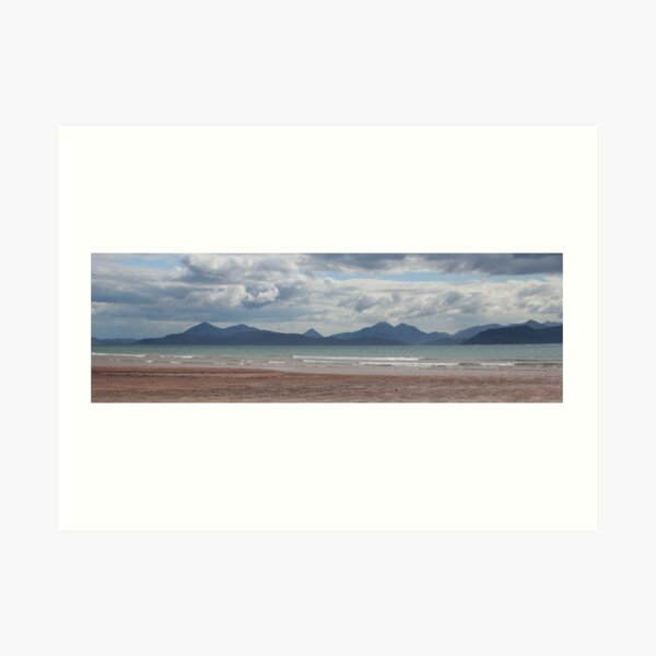 Applecross panorama Art Print