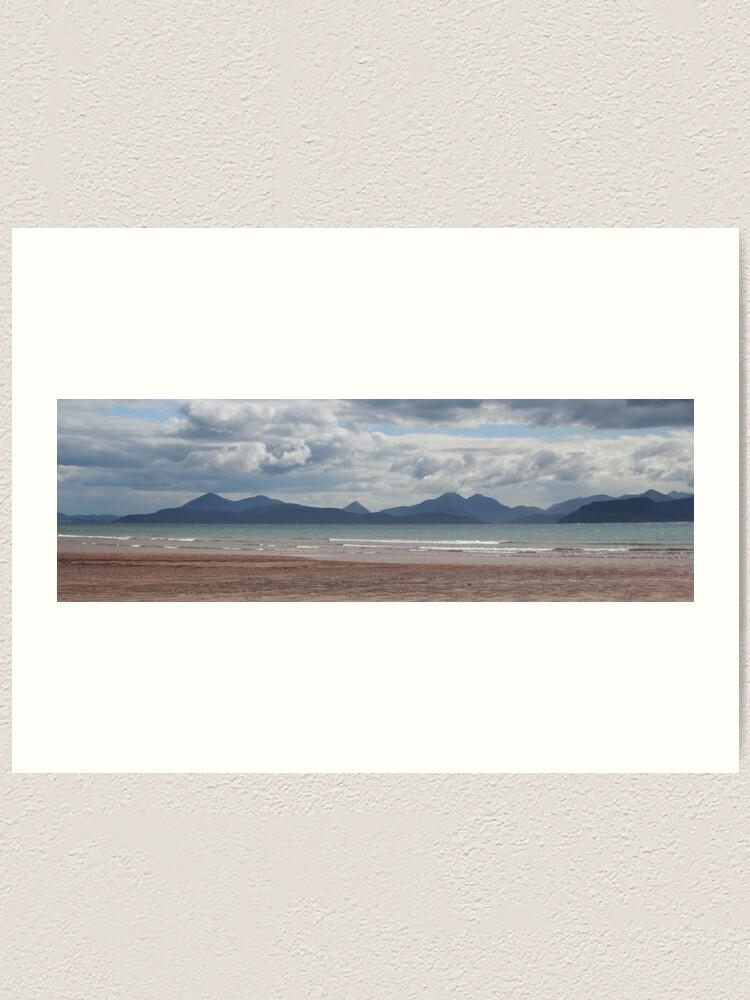 Alternate view of Applecross panorama Art Print