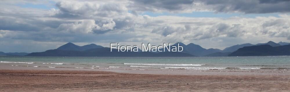 Applecross panorama by Fiona MacNab