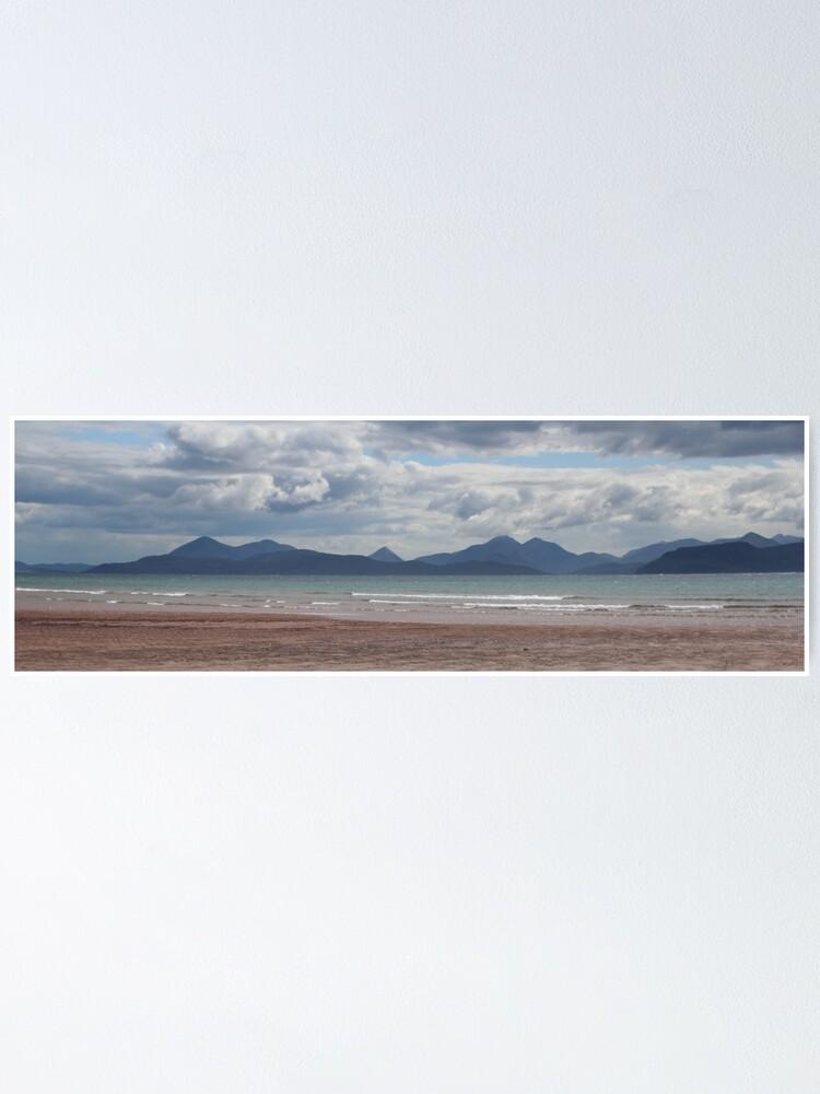 Alternate view of Applecross panorama Poster