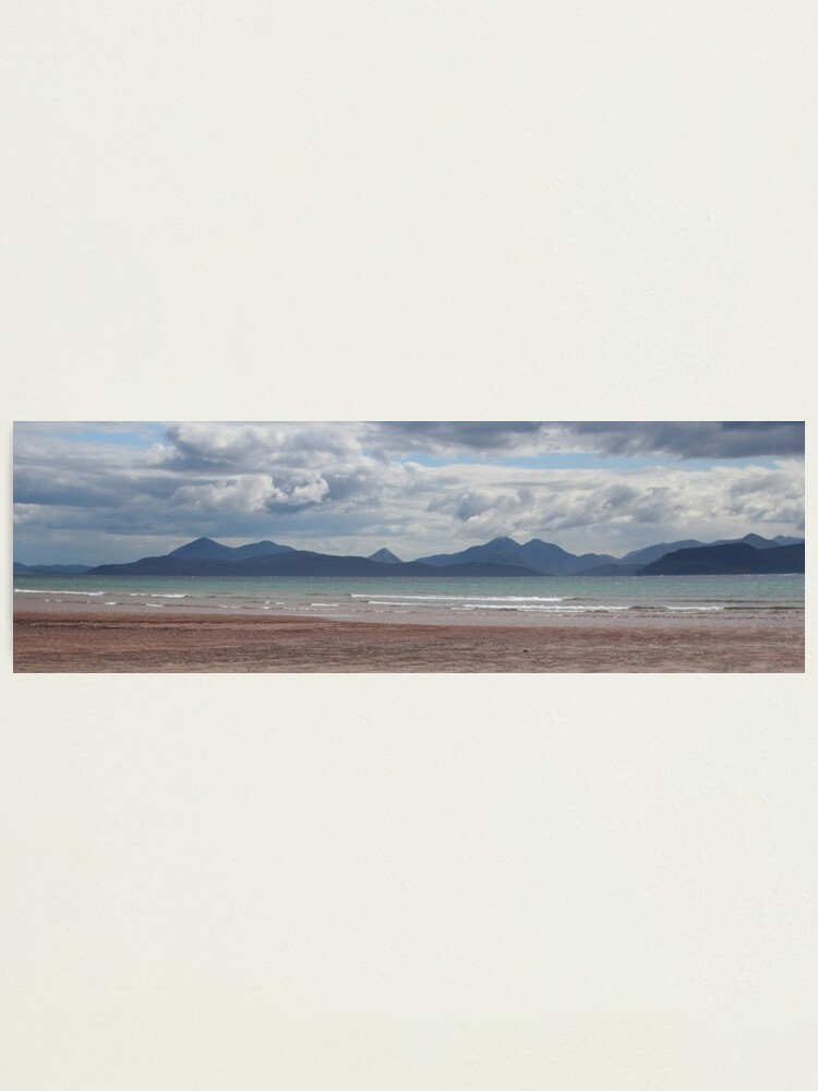 Alternate view of Applecross panorama Photographic Print