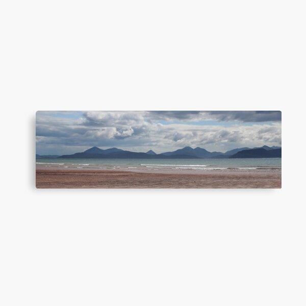 Applecross panorama Canvas Print