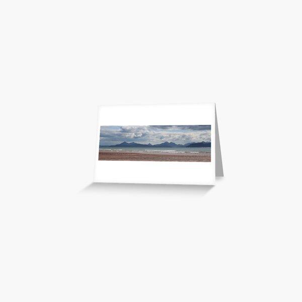 Applecross panorama Greeting Card