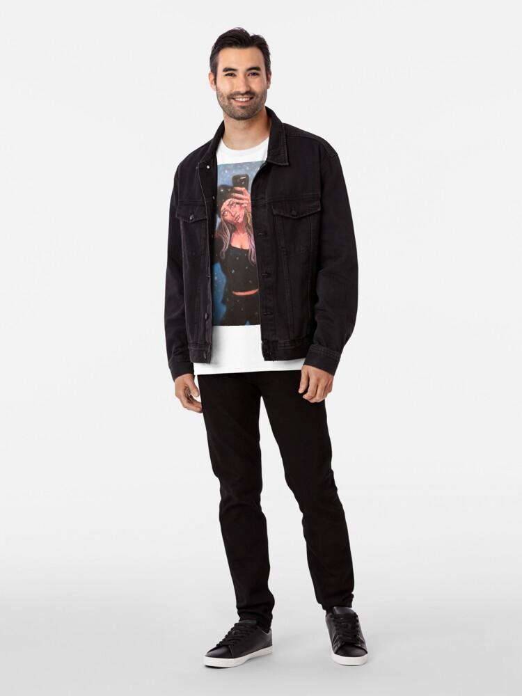 Alternate view of WINTER SELFIE Premium T-Shirt