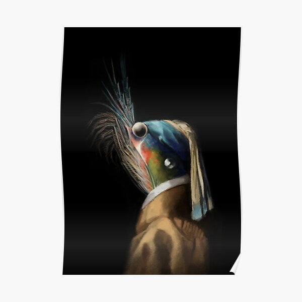 Krill WIth A Pearl Earring Poster