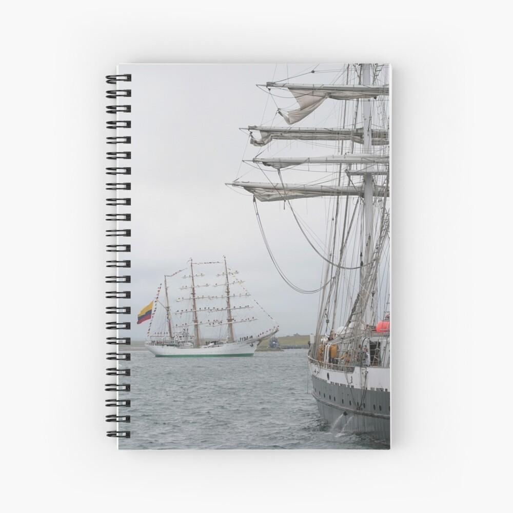 Setting Sail Spiral Notebook