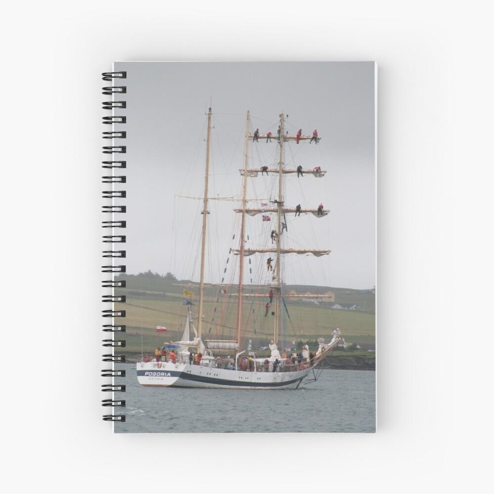 Pogoria Spiral Notebook