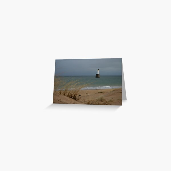 Rattray Head lighthouse Greeting Card