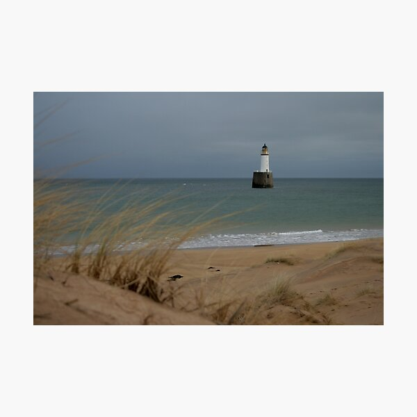 Rattray Head lighthouse Photographic Print