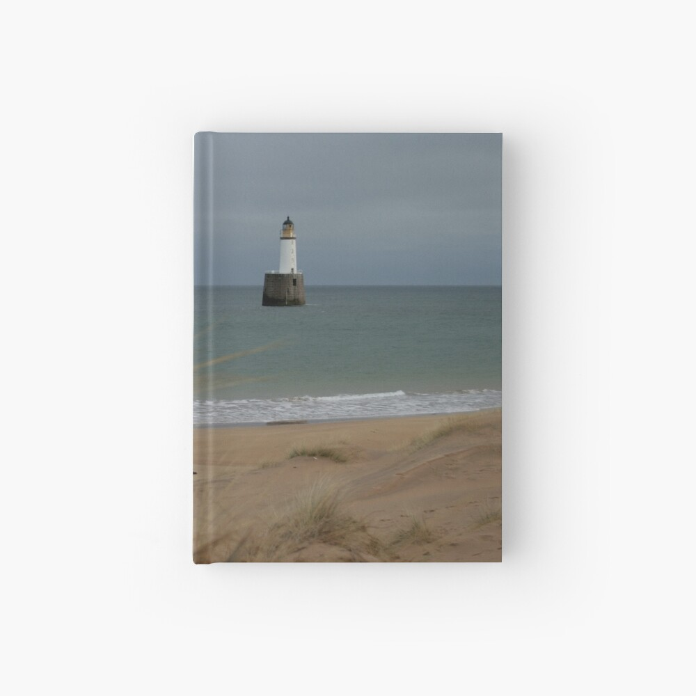 Rattray Head lighthouse Hardcover Journal