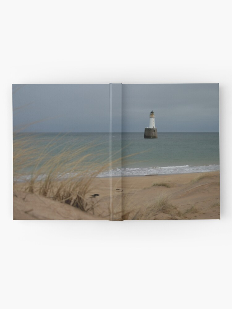 Alternate view of Rattray Head lighthouse Hardcover Journal