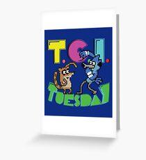 TGI Tuesday Greeting Card