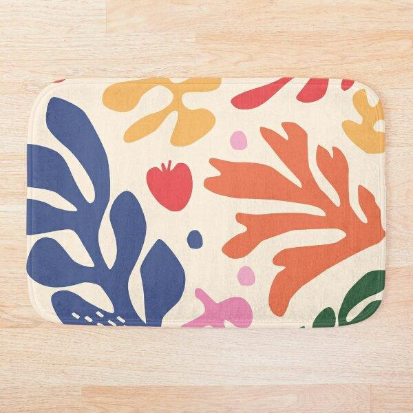 Matisse pattern_2 Bath Mat